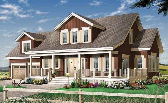 新式房子设计图